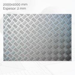 Chapa damero 2000x1000mm E2