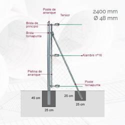 kit-poste-arranque-d48mm-x-240m-gl-ma2m