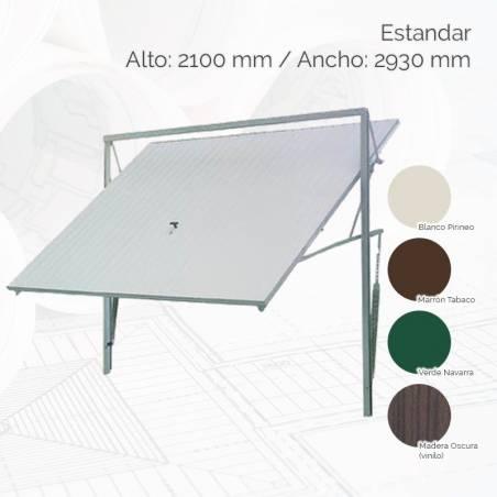 Puerta basculante estándar 2100x2930 mm