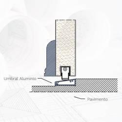 umbral-de-aluminio