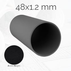 Tubo redondo TURED 48 1.2mm