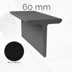 Perfil macizo simple T 60mm