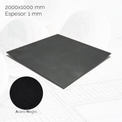 Chapa negra 2000x1000mm E1