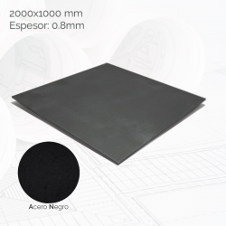 Chapa negra 2000x1000mm E0.8