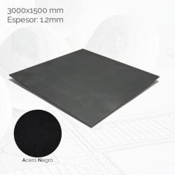 Chapa negra 3000x1500mm E1.2