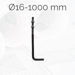 Garrotas Roscadas D16 L1000mm