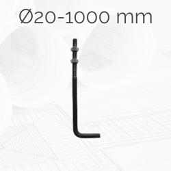 Garrotas Roscadas D20 L1000mm