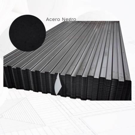 Chapa pegaso PG500 acero negro