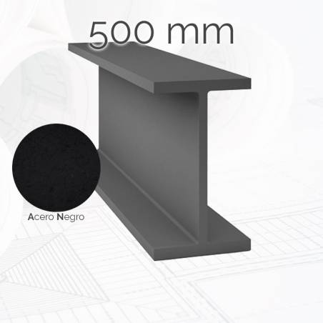 Perfil viga IPE 500mm