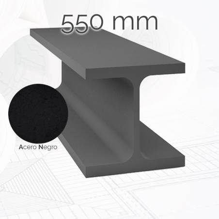 Perfil viga HEB 550mm