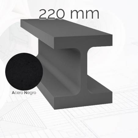 Perfil viga HEM 220mm