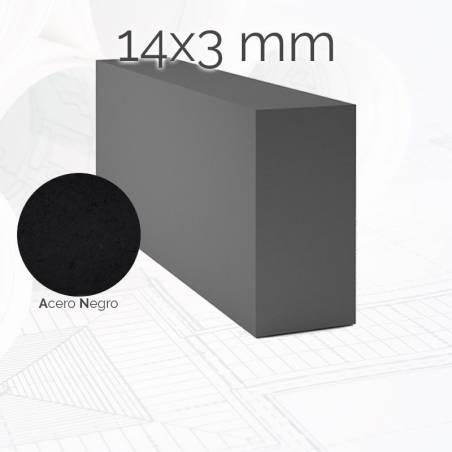 Perfil macizo pletina PLE 14x3mm