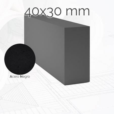 Perfil macizo pletina PLE 40x30mm