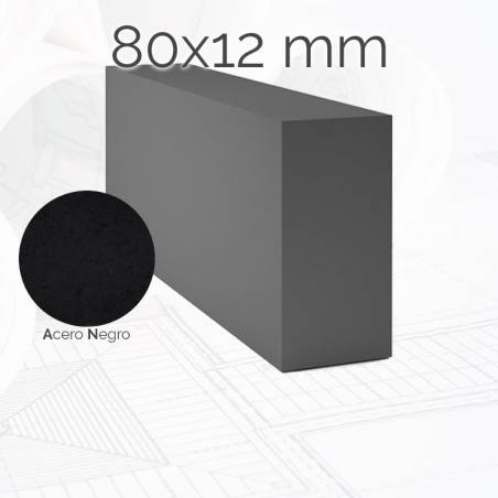 Perfil macizo pletina PLE 80x12mm