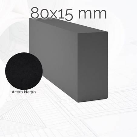 Perfil macizo pletina PLE 80x15mm
