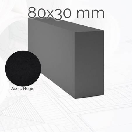 Perfil macizo pletina PLE 80x30mm