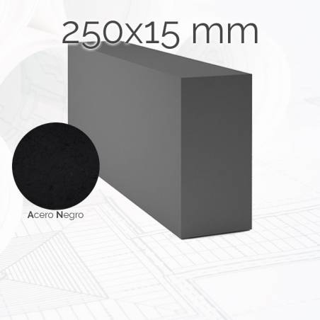 Perfil macizo pletina PLE 250x15mm