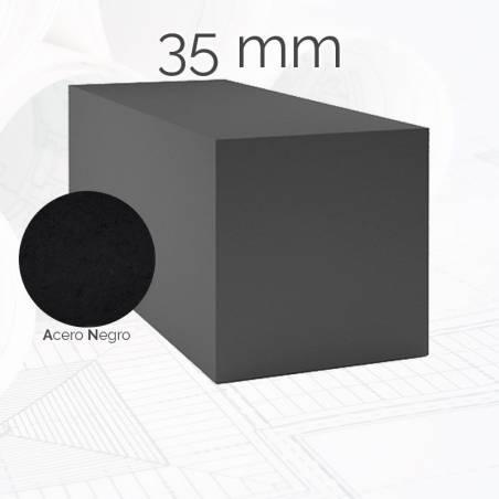 Perfil macizo cuadrado CUA 35mm