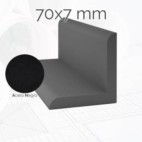 Perfil macizo angulo ANG 70 7mm