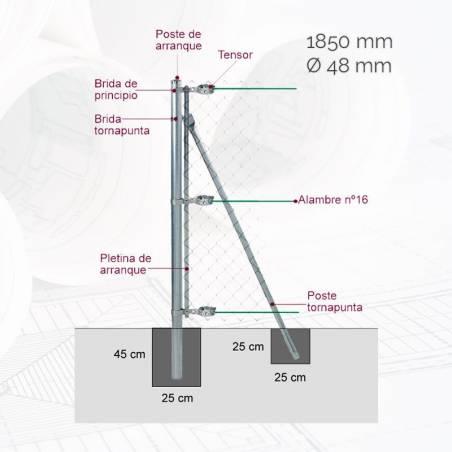 kit-poste-arranque-d48mm-x-185m-gl-ma15m