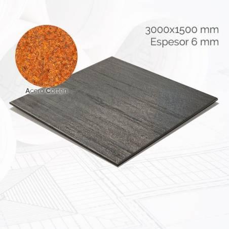 Chapa acero corten CHCOR 3000x1500mm E6