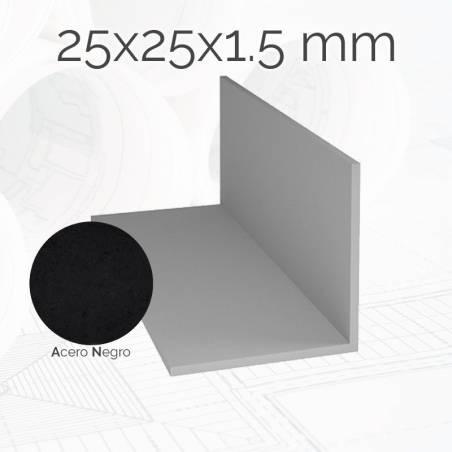 Perfil angulo laminado 25x25 E1.5 AN
