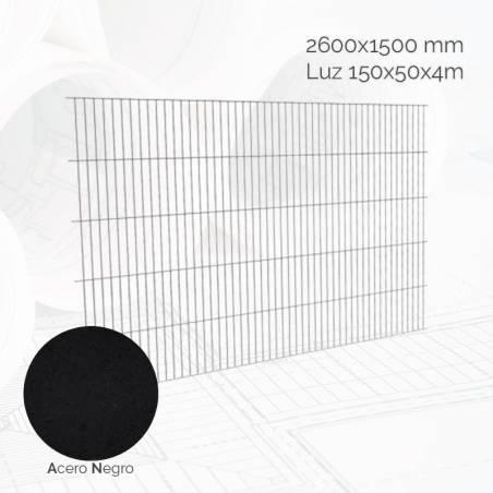 Malla electro-soldada 150x50x4mm Med.2.6x1.5m AN